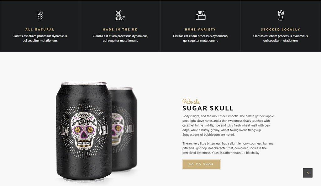 Информация о сортах пива